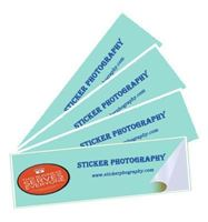 Picture of Label Sticker in Screen Printing