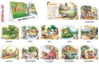 T407 Village Table Calendar 2017