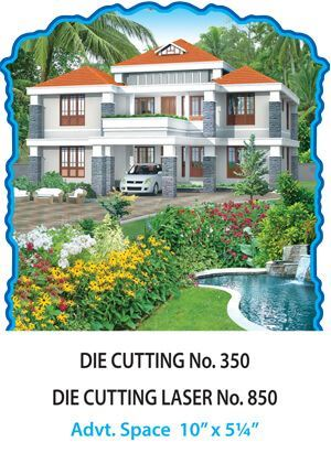 D-350 House Scenery Daily Calendar 2017