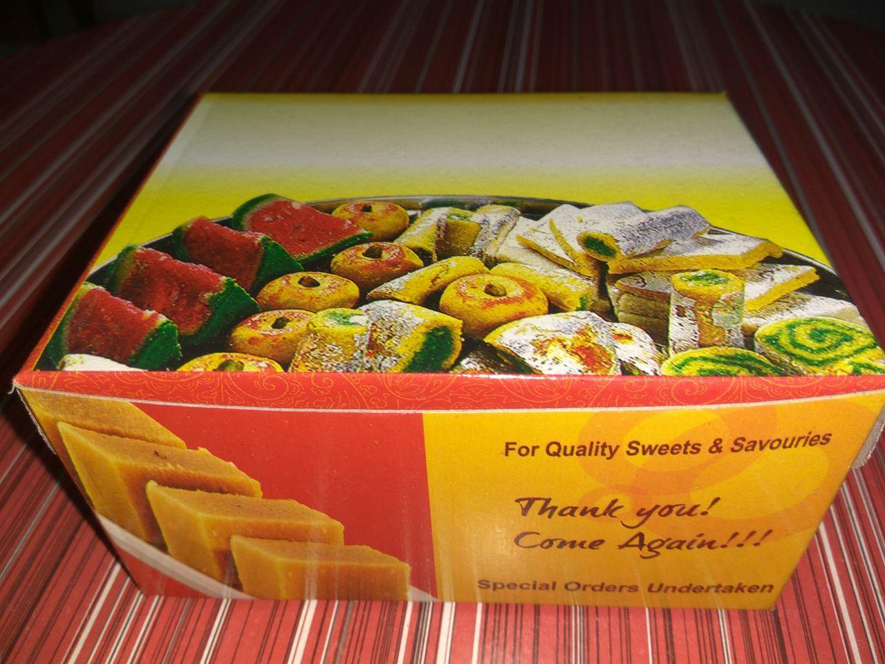 Quarter KG Sweet Box