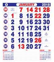 Free Calendar 2018