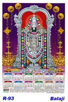 R-93 Balaji Polyfoam Calendar 2019
