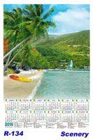 R-134 Scenery Polyfoam Calendar 2019