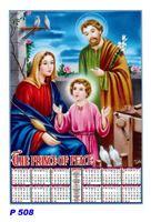 R508 Jesus Family Polyfoam Calendar 2019