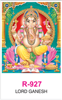 R-927 Lord Ganesh Real Art Calendar 2019