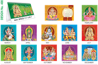 T408 Gods Table Calendar 2019