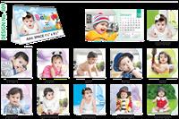 T409 Baby Table Calendar 2019