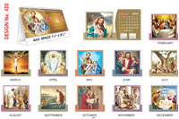T420 Jesus Table Calendar 2019