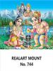 D-744 Shiva Linga Pooja  Daily Calendar 2019
