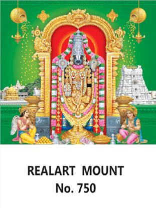 D-750 Lord Balaji Daily Calendar 2019