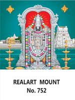 D-752 Lord Balaji Daily Calendar 2019