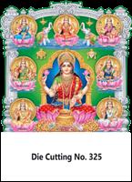D-325  Asta Lakshmi Daily Calendar 2019