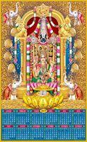 P-744 Lord Balaji Real Art Calendar 2019