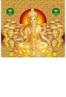 P-1023 Gold Lakshmi Daily Calendar 2019