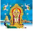 P-1054 Lord Murugan Daily Calendar 2019