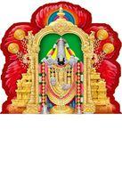 P-132 Lord Balaji  Daily Calendar 2019