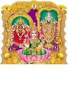 P-136 Lord Balaji  Daily Calendar 2019