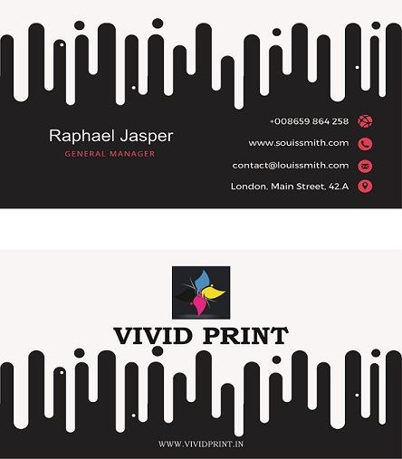 Synthetic Visiting Card - Non Tearable Visiting Cards