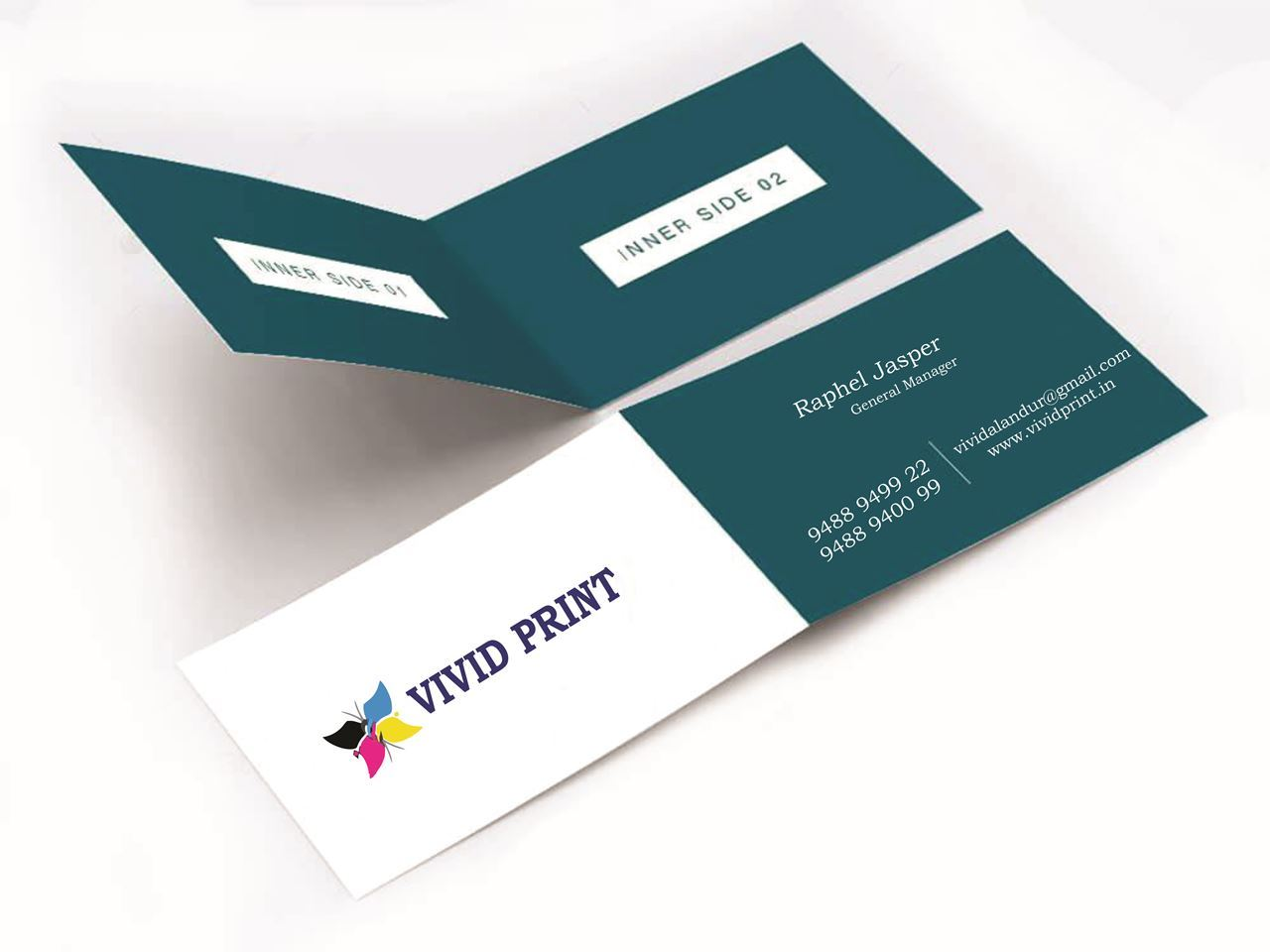 Picture of Folded Visiting Cards