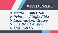 Glossy Single Side 150 Qty