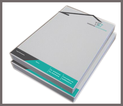 100 GSM Executive Bond With Loose Sheets