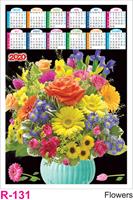 R 131 Flowers  Polyfoam Calendar 2020 Online Printing