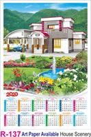 R 137 House Scenery Polyfoam Calendar 2020 Online Printing