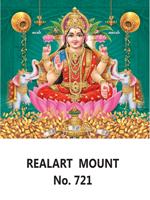 D 721 Lord Lakshmi Daily Calendar 2020 Online Printing