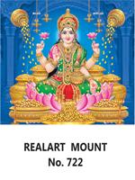 D 722 Lord Lakshmi Daily Calendar 2020 Online Printing