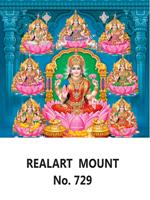 D 729 Asta Lakshmi Daily Calendar 2020 Online Printing