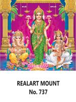 D 737 Diwali Pooja Daily Calendar 2020 Online Printing