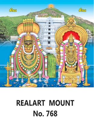 D 768 Lord balaji Daily Calendar 2020 Online Printing