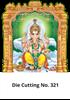 D 321 Ganesh Die Cutting Daily Calendar 2020 Online Printing