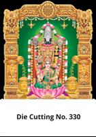 D 330 Lakshmi Balaji Die Cutting Daily Calendar 2020 Online Printing