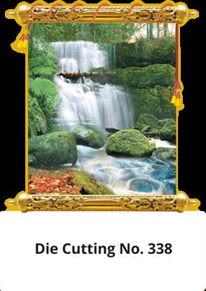 D 338 Scenery Die Cutting Daily Calendar 2020 Online Printing