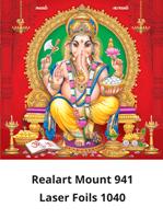 D 1040 Lord Vinayaka Daily Calendar 2020 Online Printing