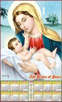 P502 Matha Jesus Polyfoam Calendar 2020 Online Printing