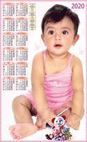 P510 Baby Polyfoam Calendar 2020 Online Printing