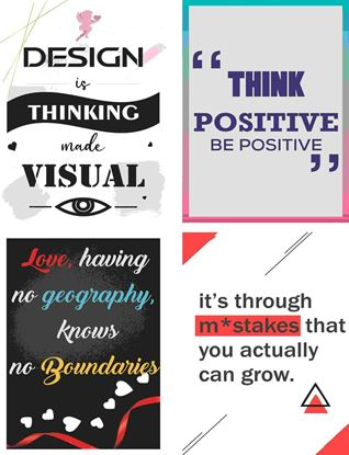 P1008 Motivational & Positive Posters
