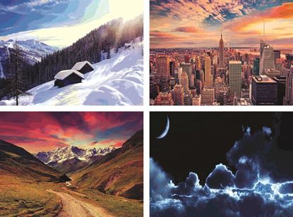 P1302 Scenery & Architecture  Posters