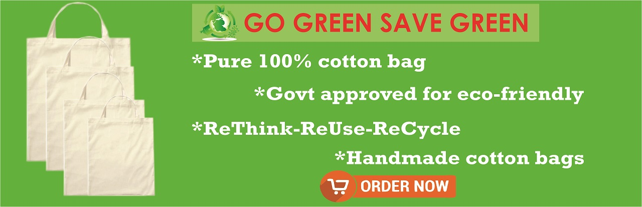 100% pure cotton bags