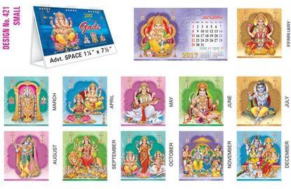 T421 Gods Table Calendar 2017