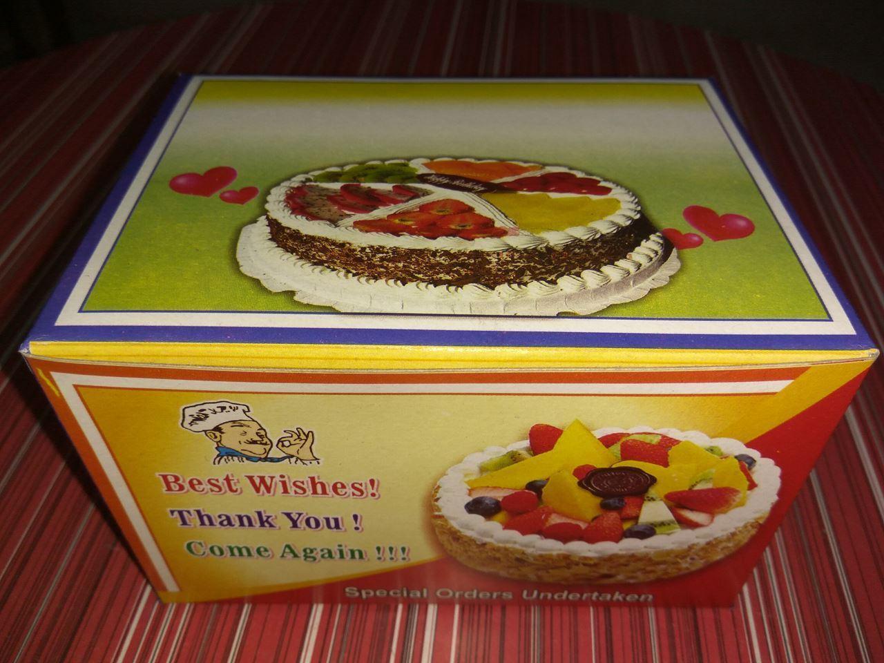 Picture of Half KG Cake Box