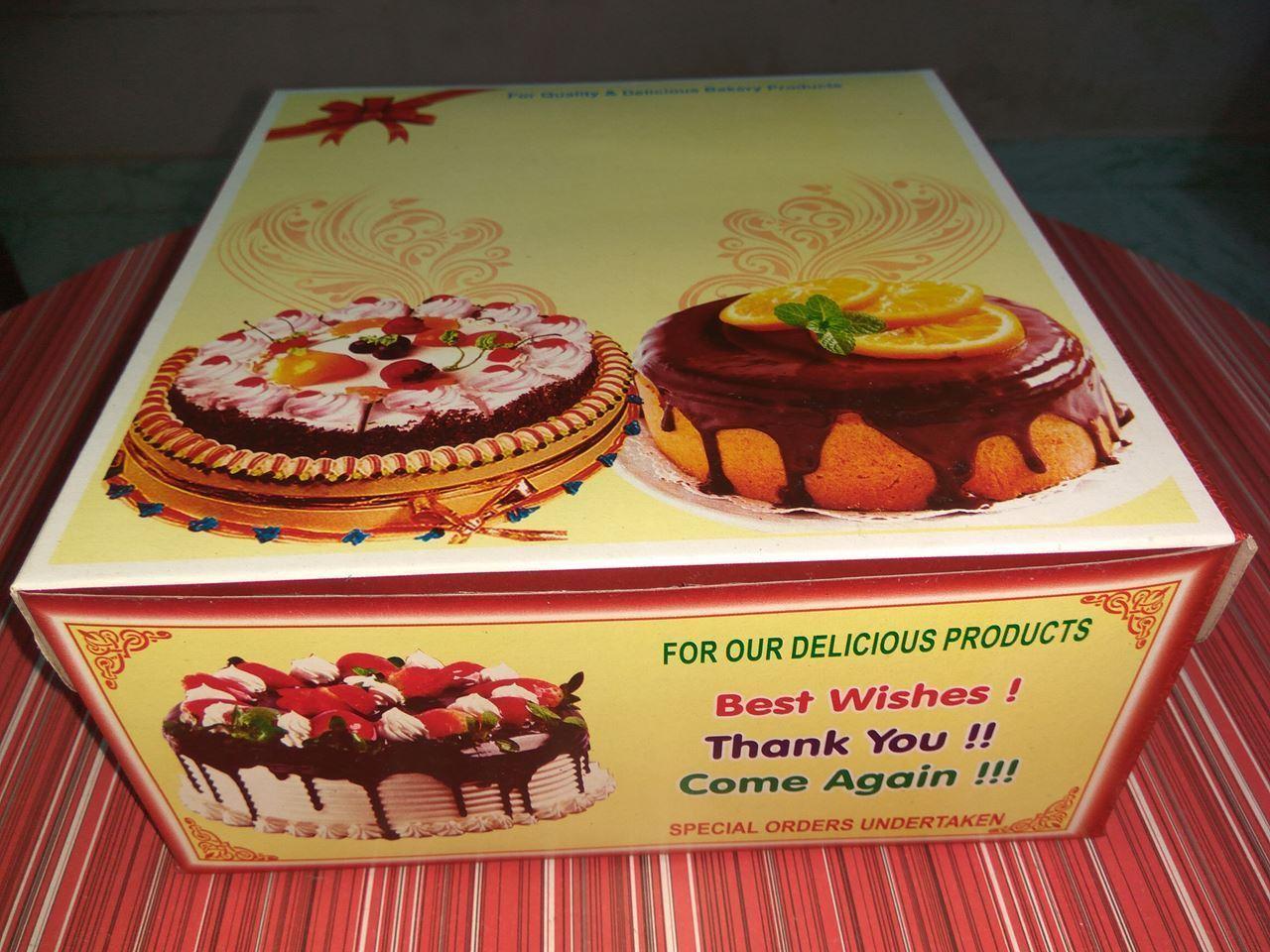 Two KG Cake Box Printing