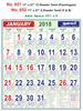 R651 Tamil Monthly Calendar 2018 Online Printing