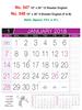 R547 English Monthly Calendar 2018 Online Printing