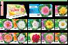 T413 Lovely Flowers  Table Calendar 2019