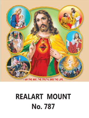 D-787 Jesus's History Daily Calendar 2019