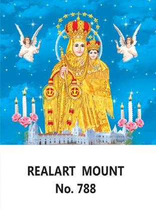 D-788 Annai Vellankanni matha History Daily Calendar 2019