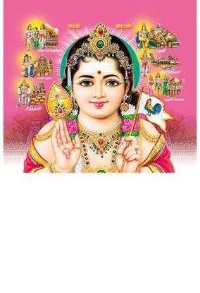 P-1063 Lord Karthikeyan Daily Calendar 2019